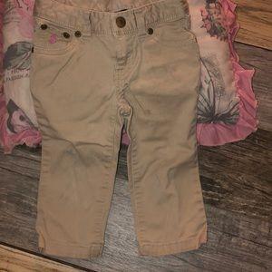 Toddler girl 2-T Ralph Lauren pants.